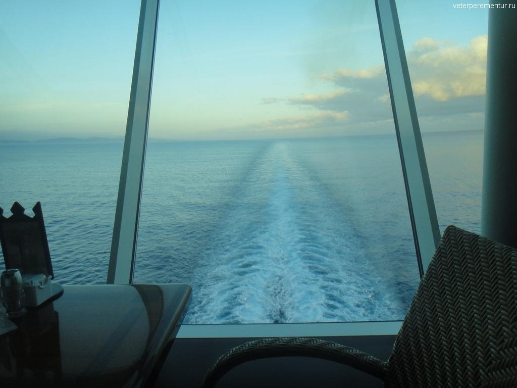 Рассвет в море, Карибы