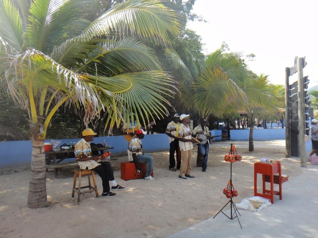 Гаитянские музыканты