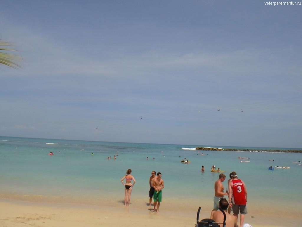 Лабади, пляж