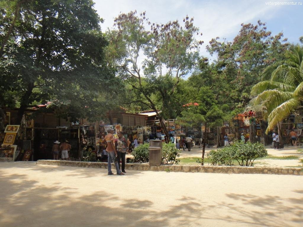 Лабади, продажа сувениров
