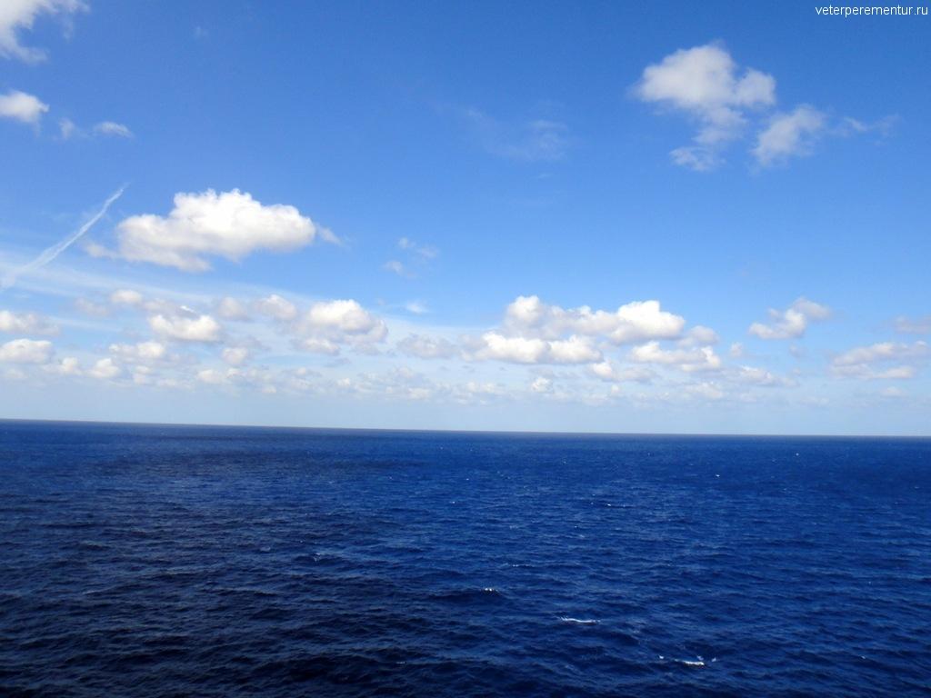Открытое море, Карибы