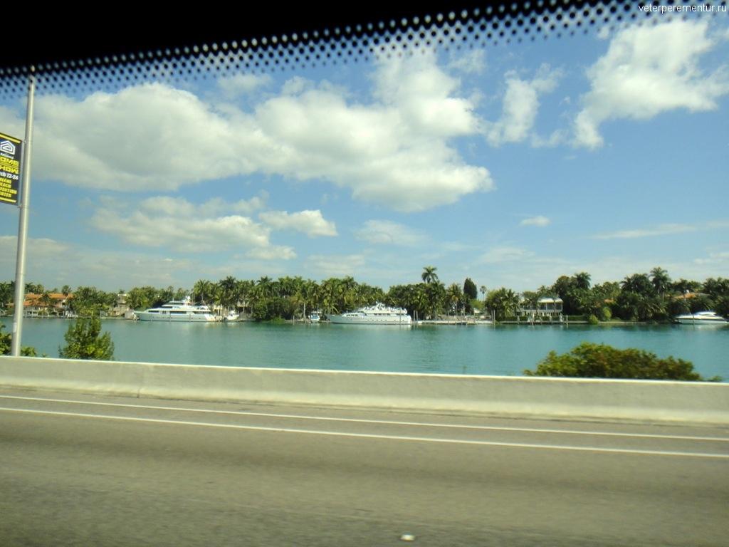 По пути в порт Майами
