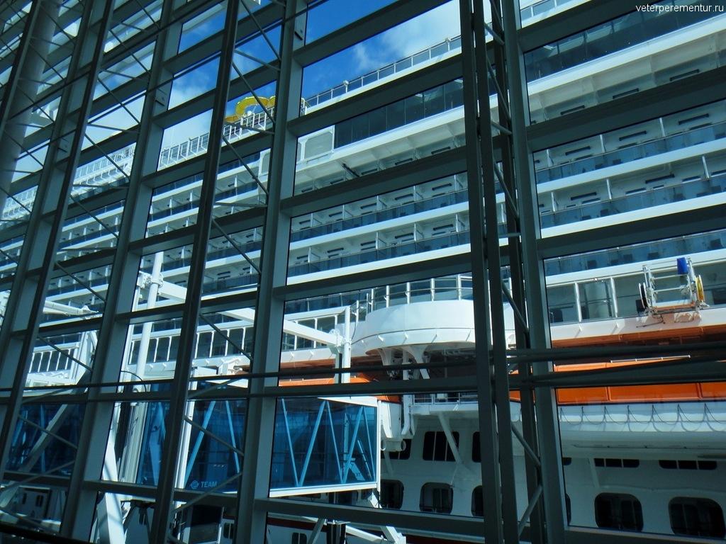 Круизный терминал, порт Майами