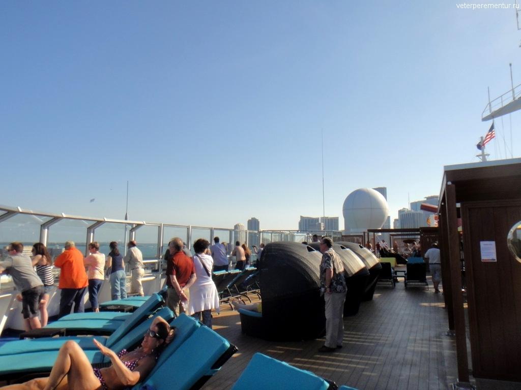 Отплытие из порта Майами