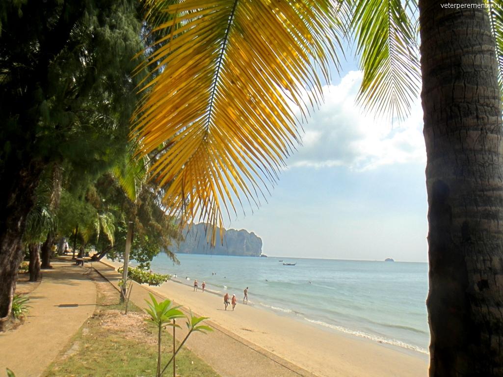 Таиланд, вид на море