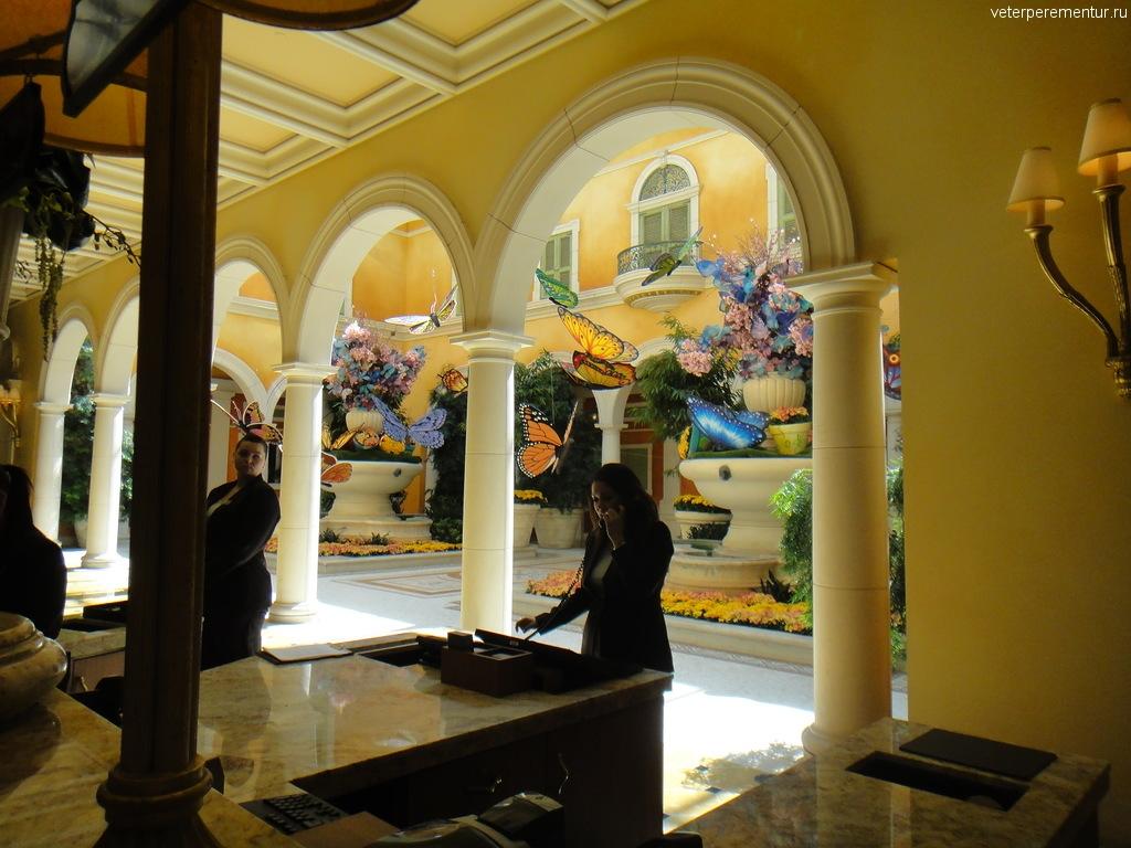 """Отель """"Беладжио"""", Лас Вегас"""
