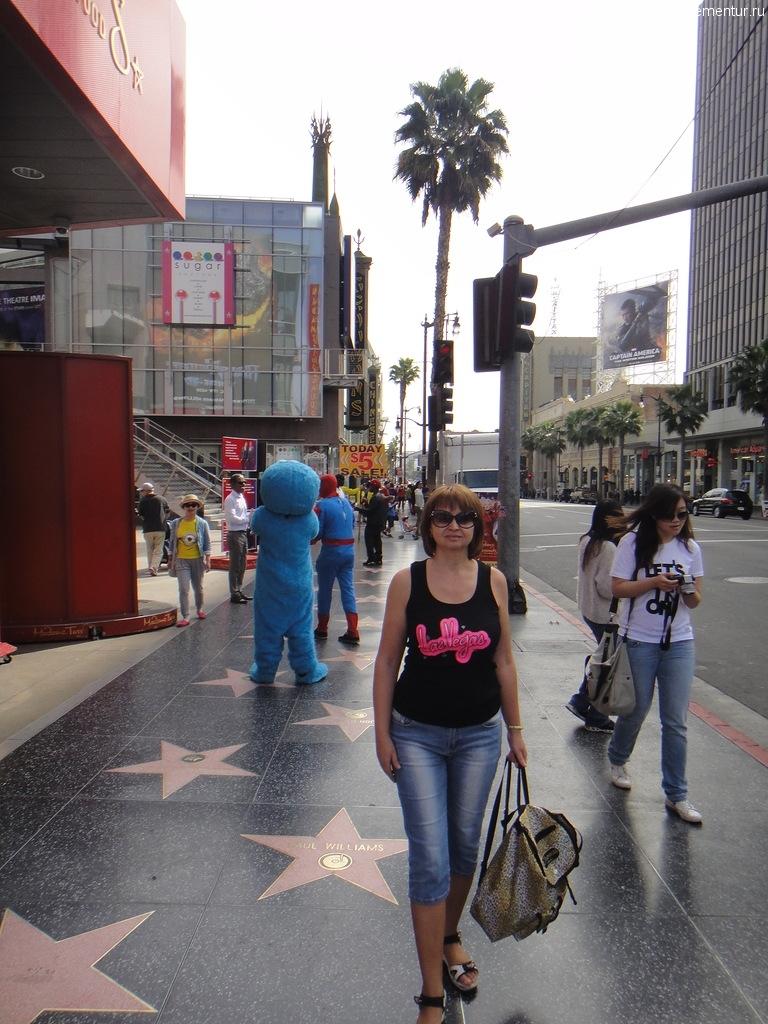Аллея Звезд, Голливуд