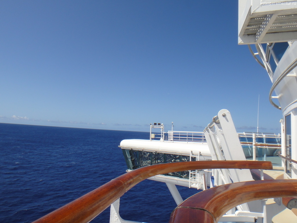 Star Princess по пути на Гавайи