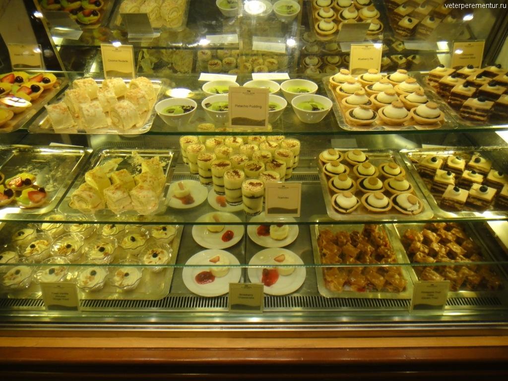Десерты на Star Princess