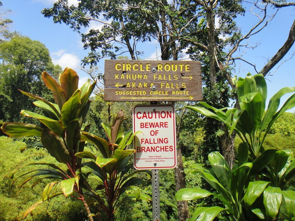 Национальный парк Akaka Falls, Гавайи