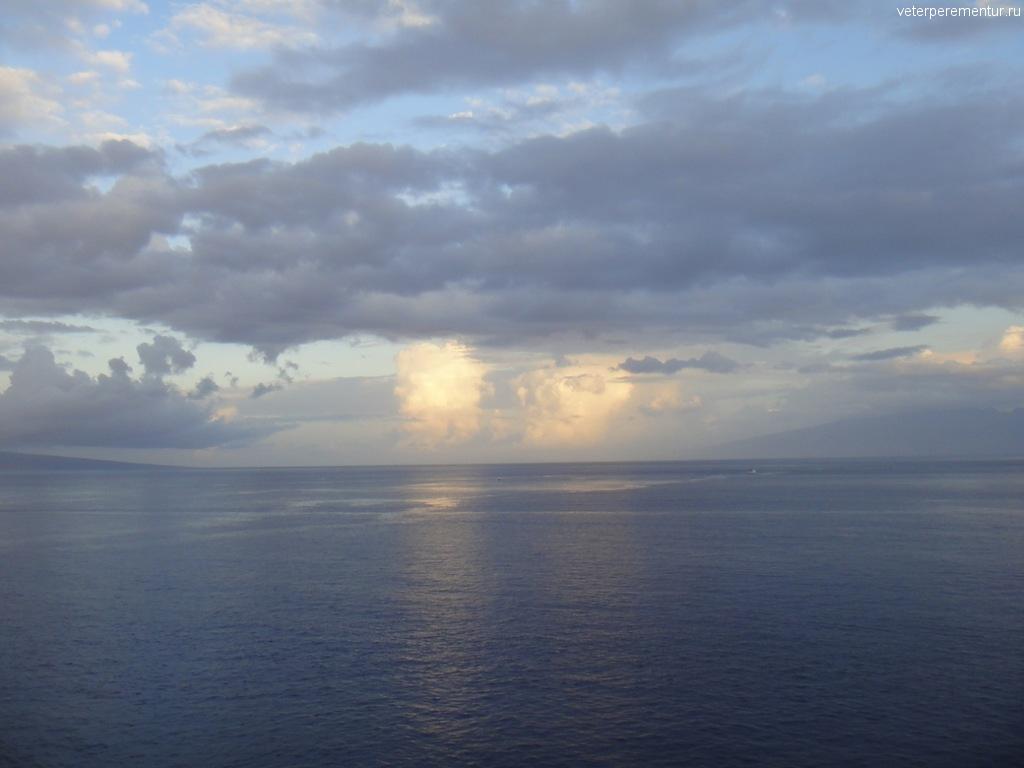 Приплываем на Мауи