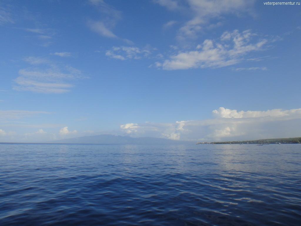 Мауи, вид с воды