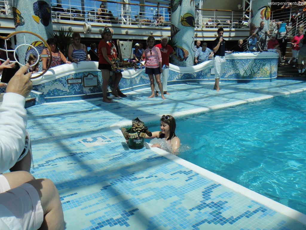 Соревнования моделей кораблей на Star Princess