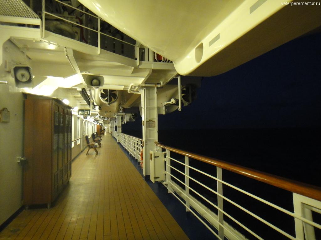 Прогулочная палуба на Star Princess