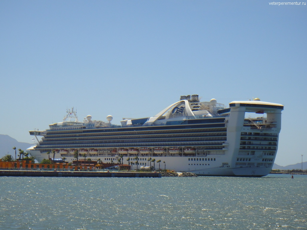 Star Princess в Мексике