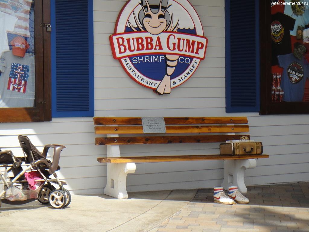 Ресторан Bubba Gump, Лонг Бич, Лос Анджелес