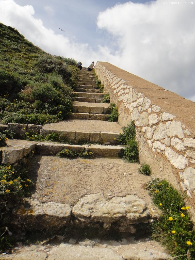 Лестницы в форте, Бонифаччо, Корсика