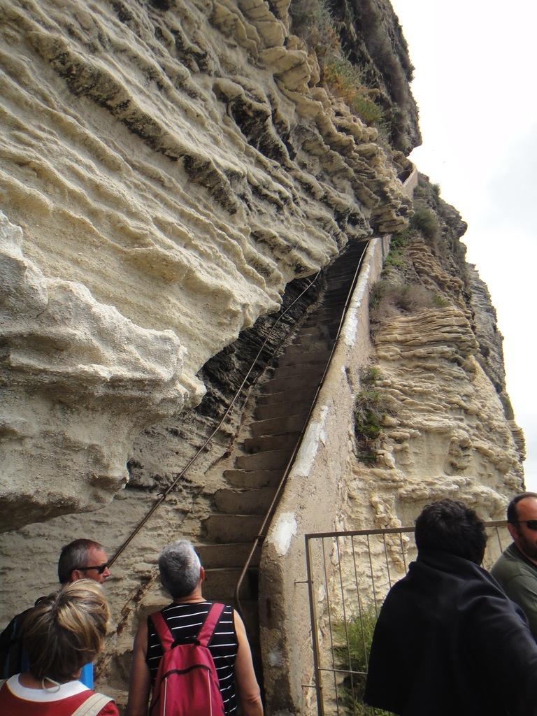 Арагонская лестница, Бонифаччо, Корсика
