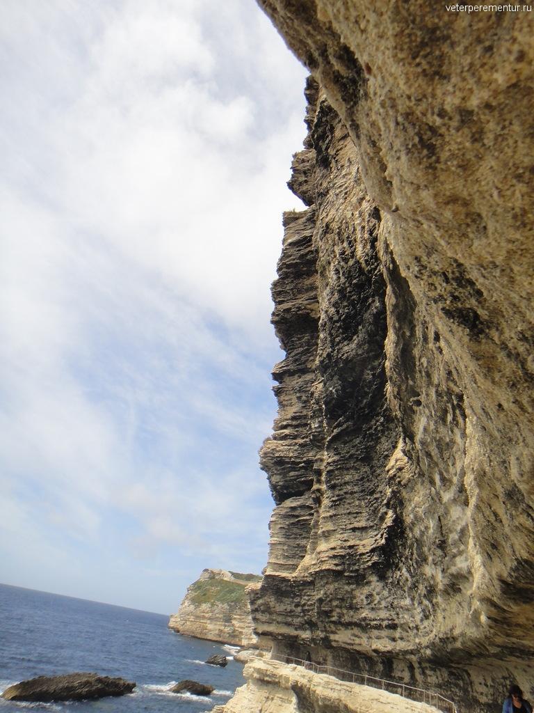 Скалы в Бонифаччо, Корсика