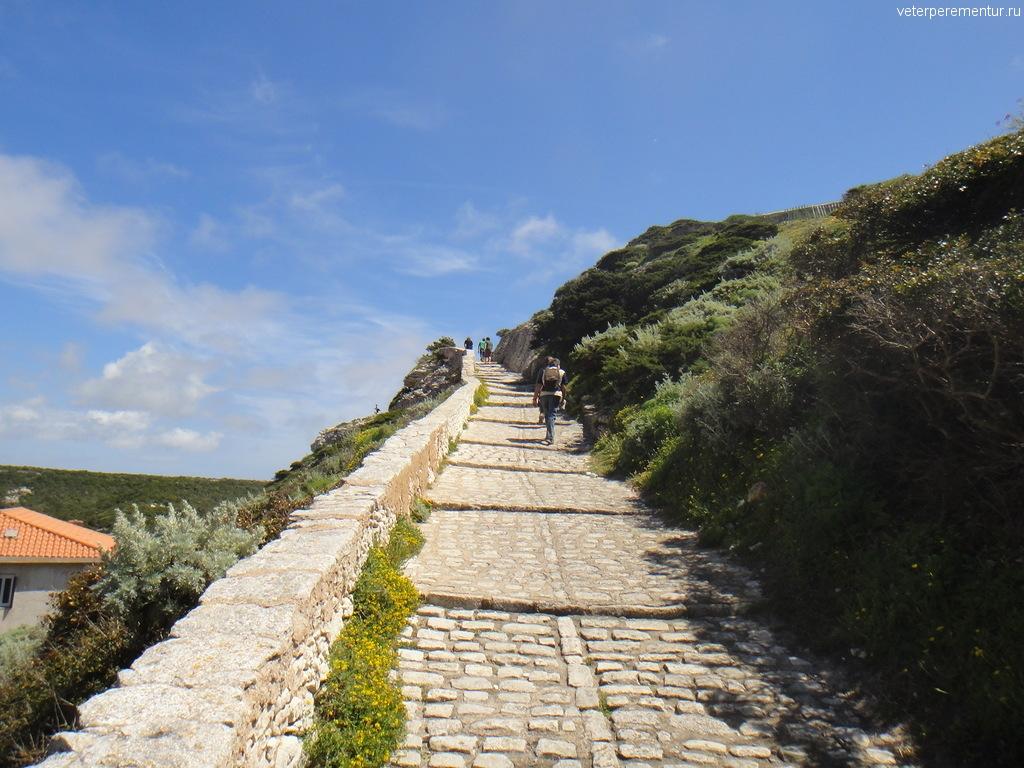 Дорога на холм, Бонифачо, Корсика
