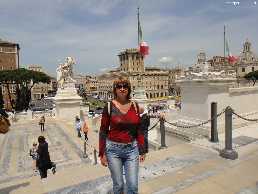 Памятник Виктору Эммануилу II, Рим