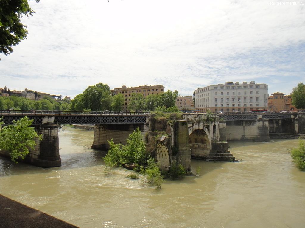 мост через Тибр, Рим