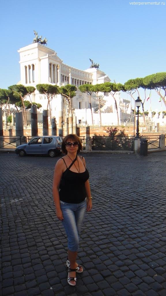 Памятник Виктору Эммануилу II , Рим
