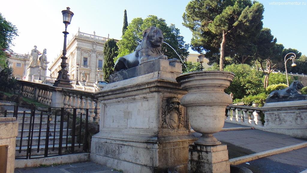 египетские львы, Рим