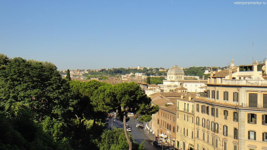 виды с Капитолийского холма, Рим
