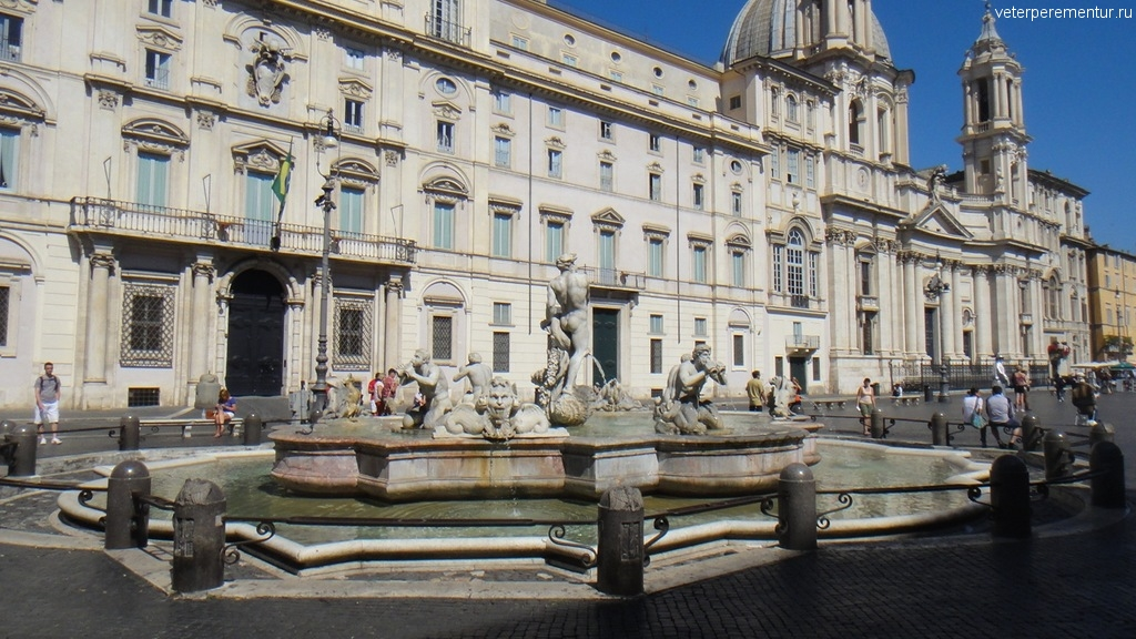 Пьяцца Навона (Piazza Navona)