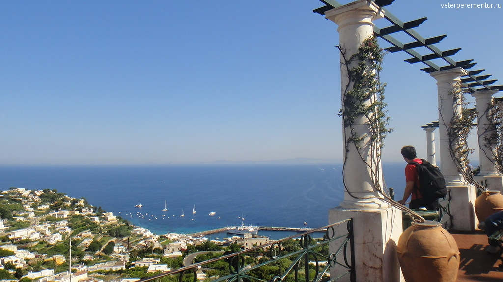 Виды Капри с террасы