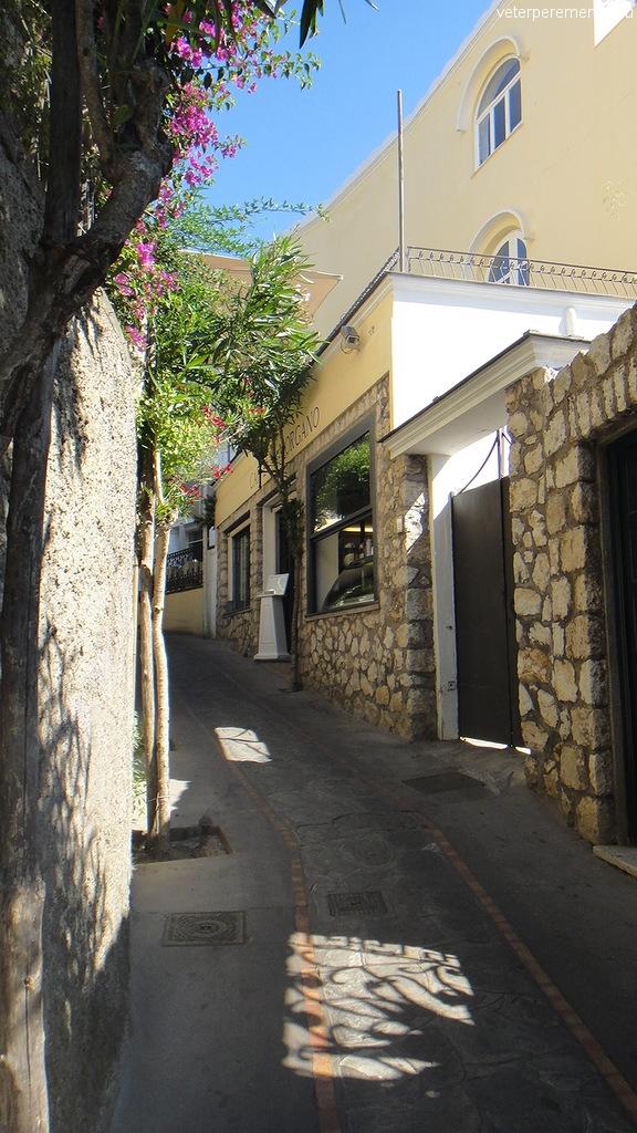 На улицах Капри
