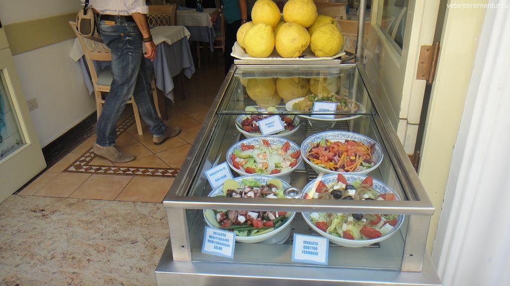 Ресторан в Капри