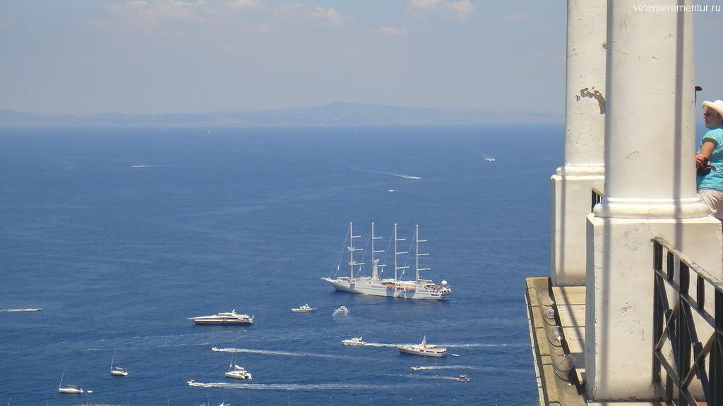 Виды со смотровой площадки, Капри
