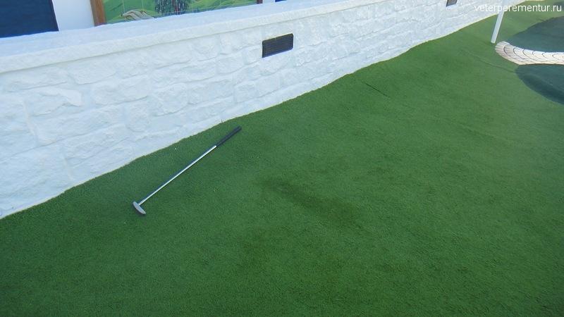 клюшка для мини-гольфа