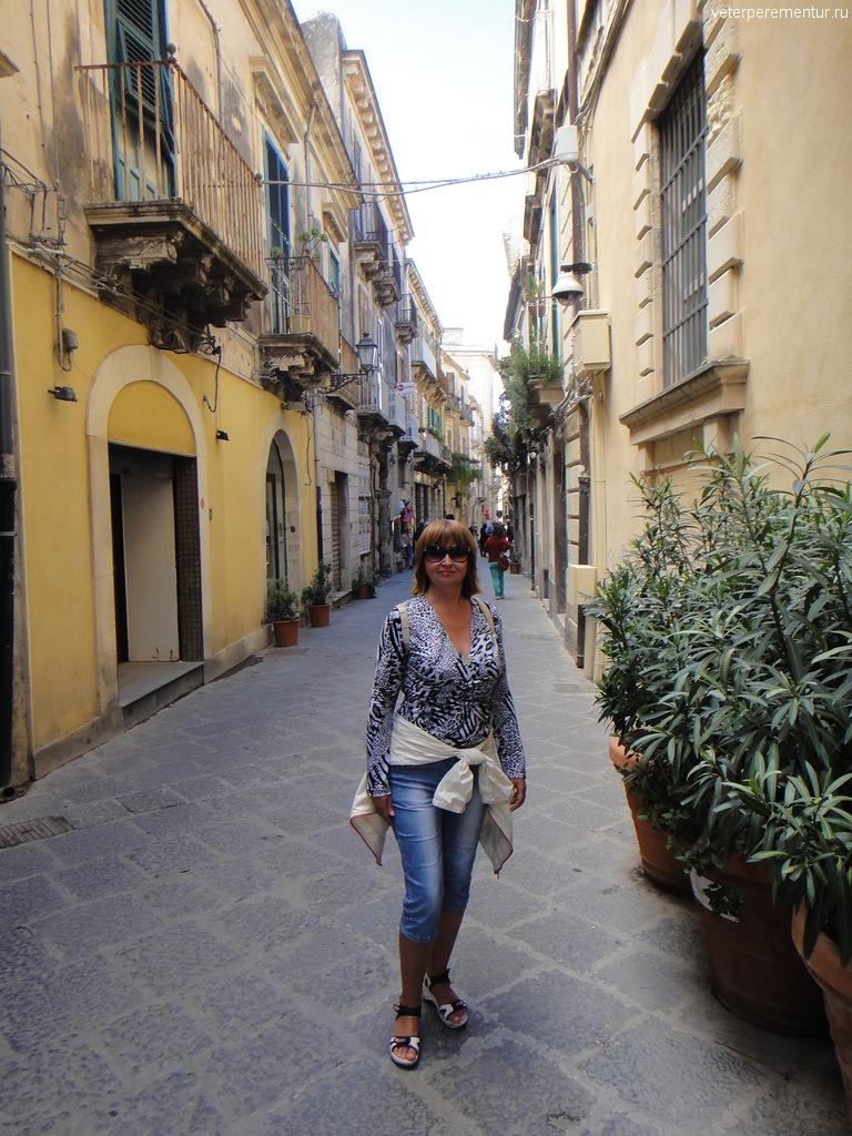 На улицах Сиракуз, Сицилия