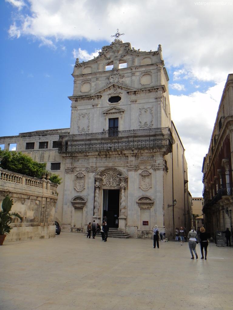 S. Lucia alla Badia, Сиракузы