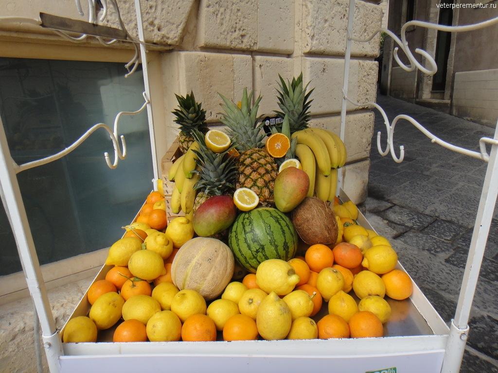 Торговля фруктами, Сиракузы