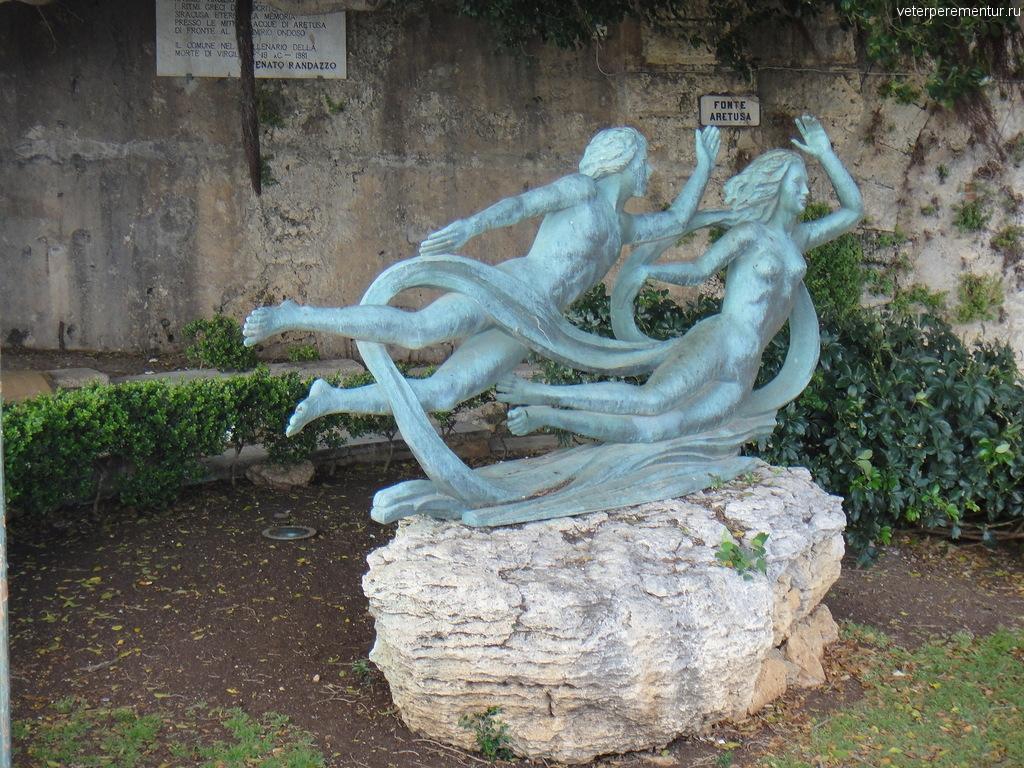 Статуя, Сиракузы