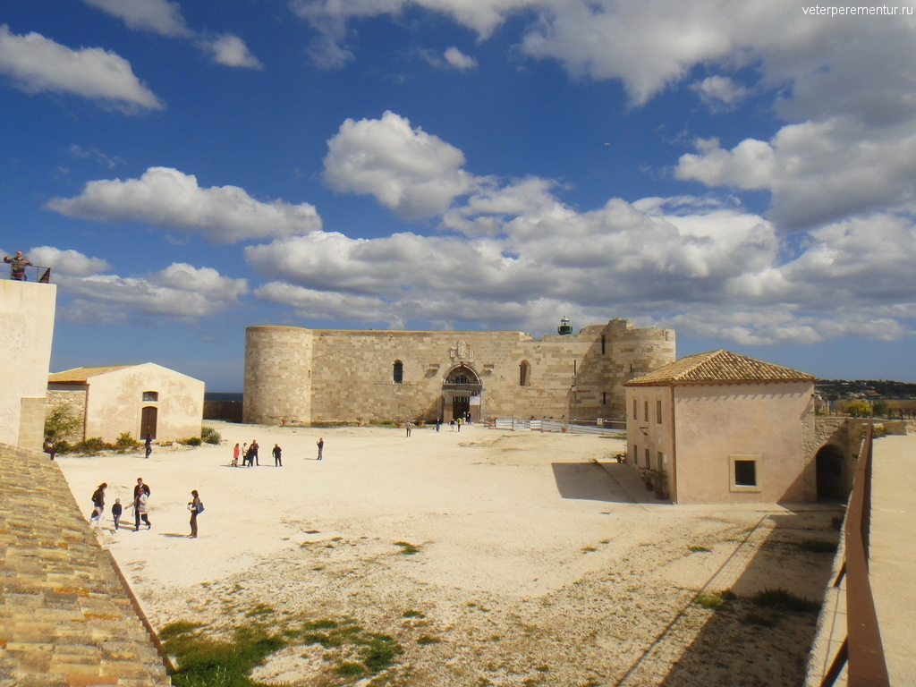 Крепость, Сиракузы, Италия