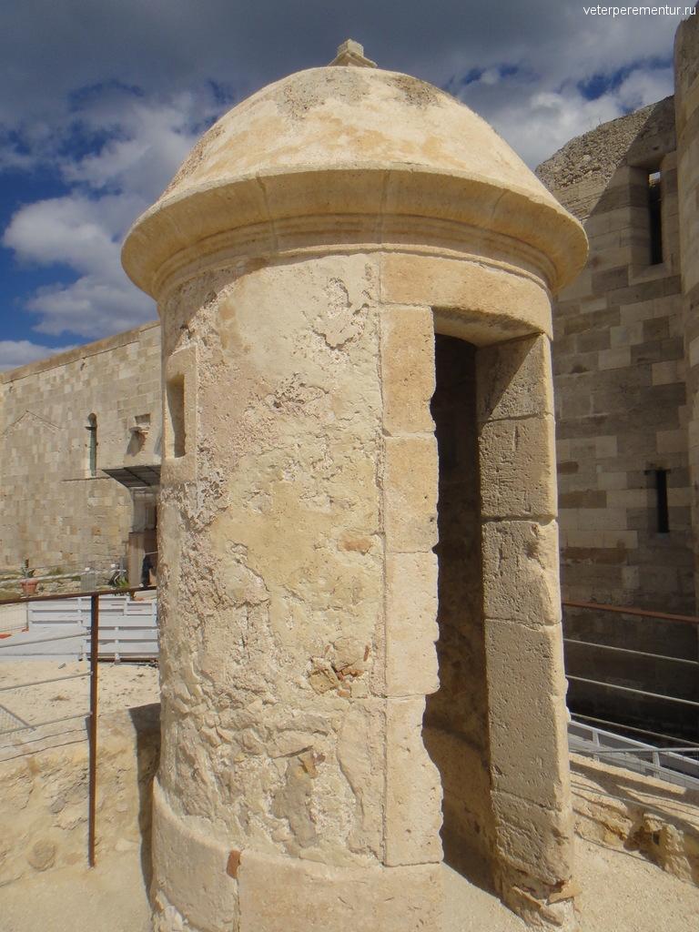 Крепость в Сиракузах