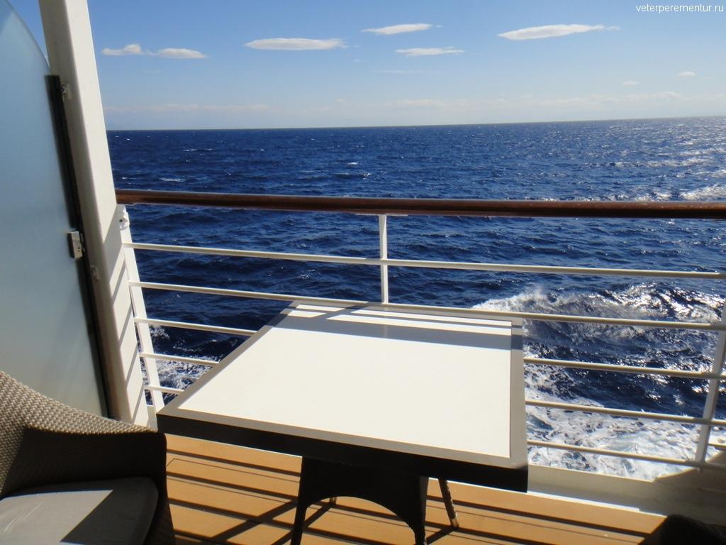 Azamara Quest, балкон