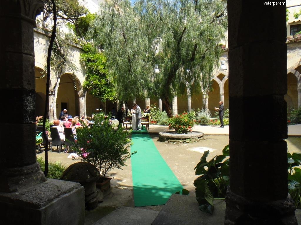 Бракосочетание в Сорренто