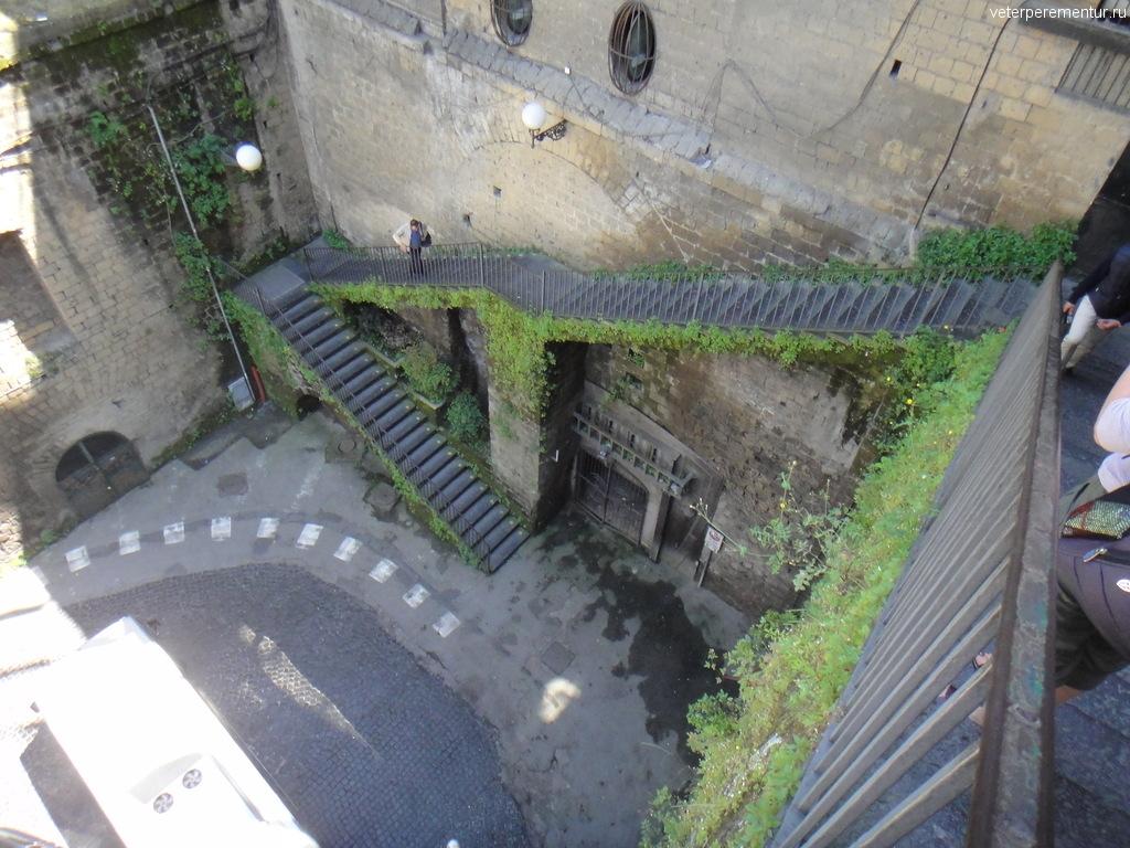 лестница в Сорренто, Италия