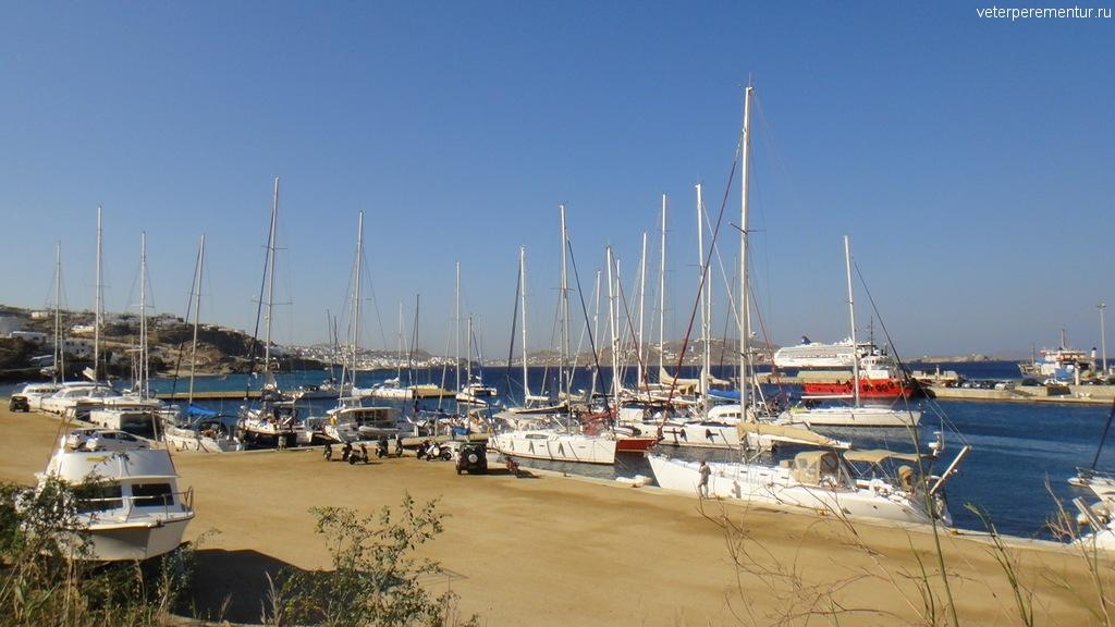 Порт Миконос