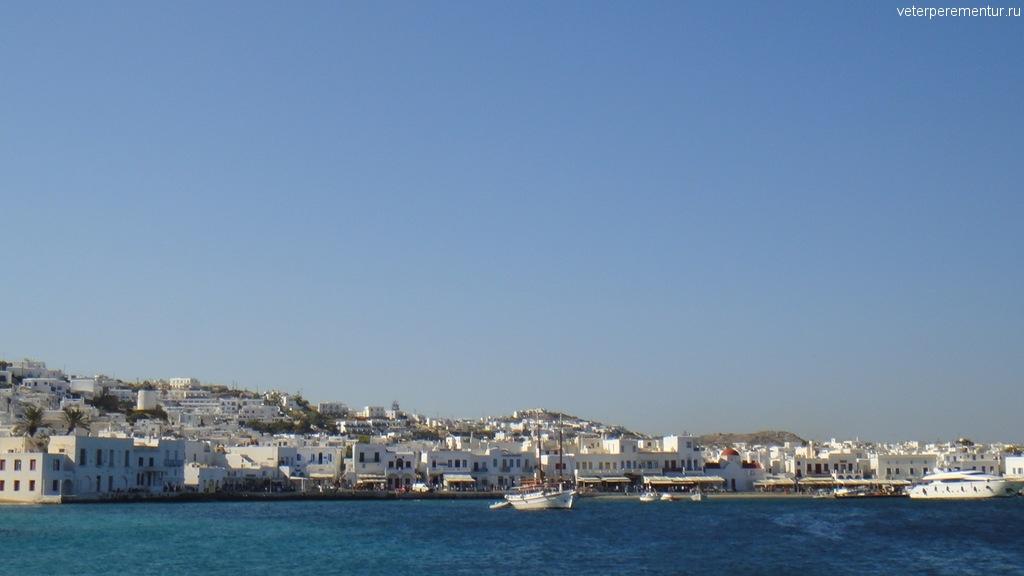 Миконос, море