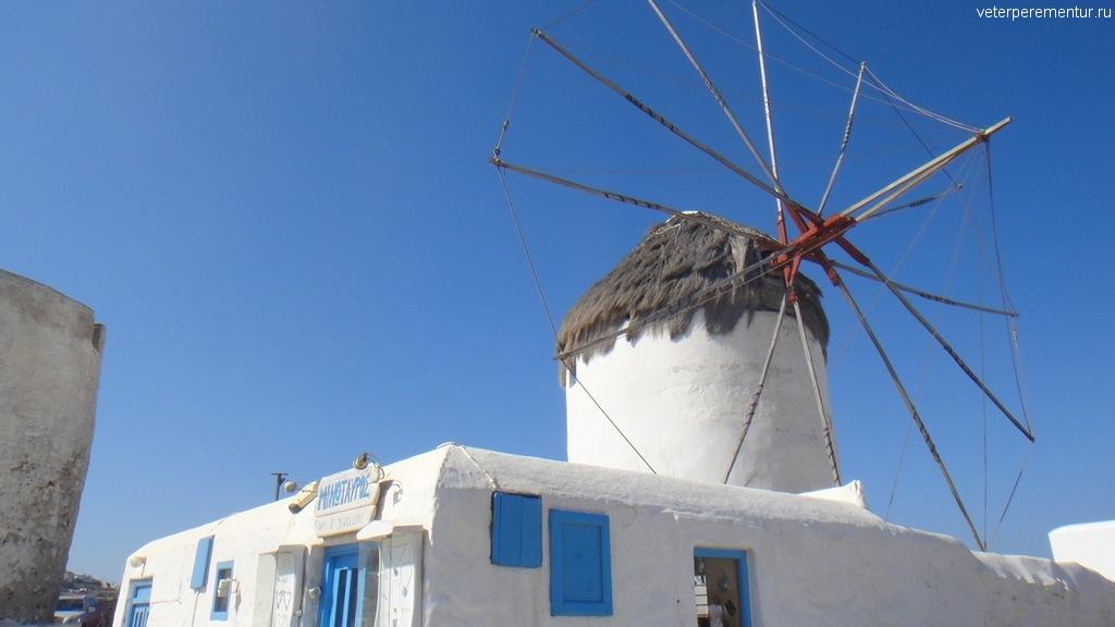 Мельницы на Миконосе