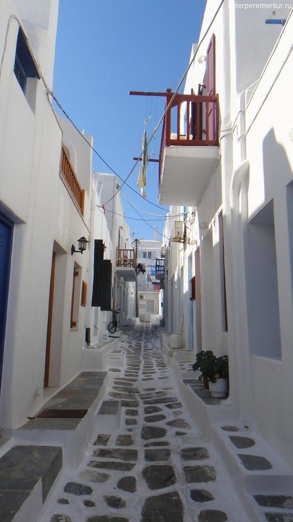 Улицы Миконоса
