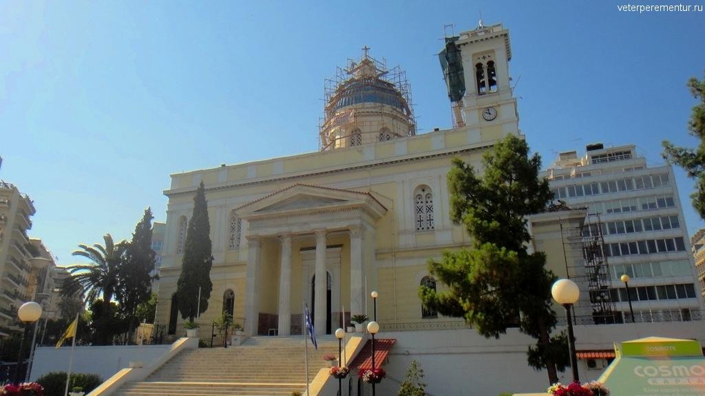 Виды по дороге из Пирея в Афины