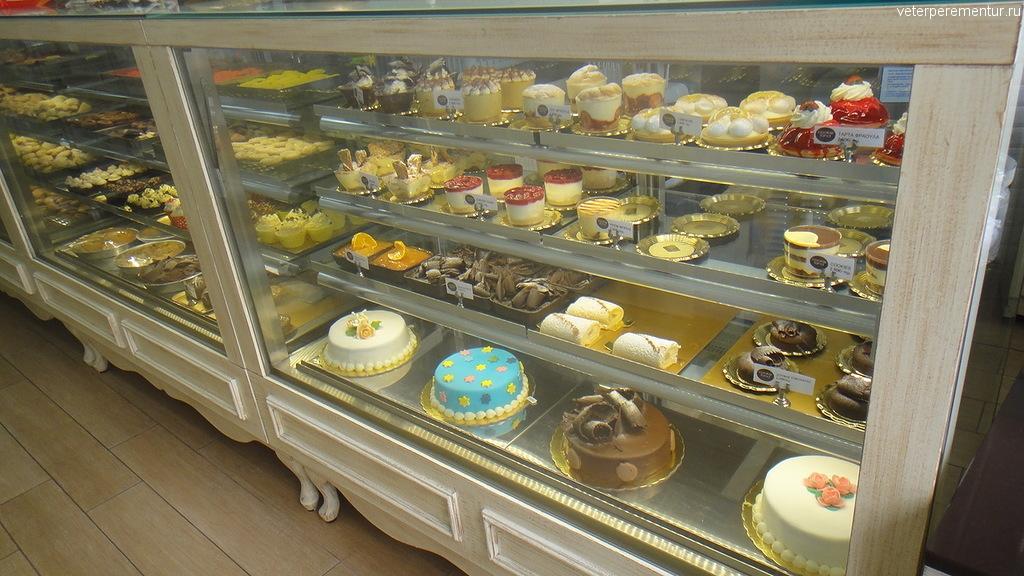 Пирожные и торты в Афинах